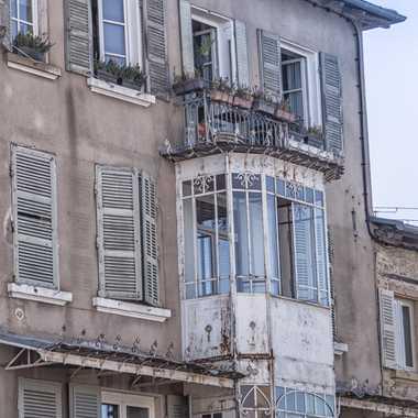 Maison beaujolaise avec balcon par patrick69220