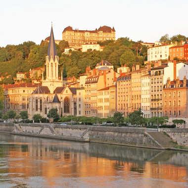 Quai de Saône par sunrise