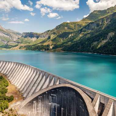 Barrage et lac de Roselend par zimzoom74