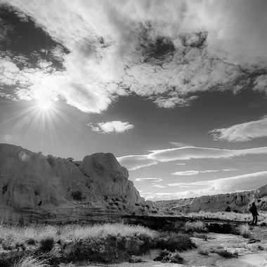Soleil sur la falaise par Colybri