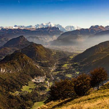 Vue sur le Mont Blanc par jeromeh