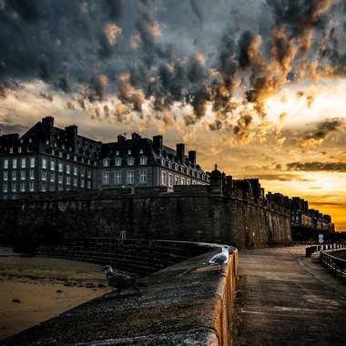 Saint-Malo par Nicolas Caulier