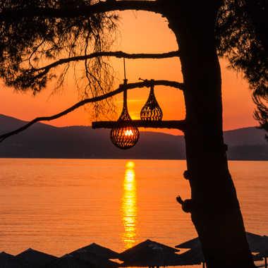 Soleil couchant par Sylvielalanne