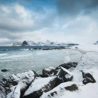 Paysage d'hiver au nord par Farim