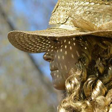 Femme en or par mamichat