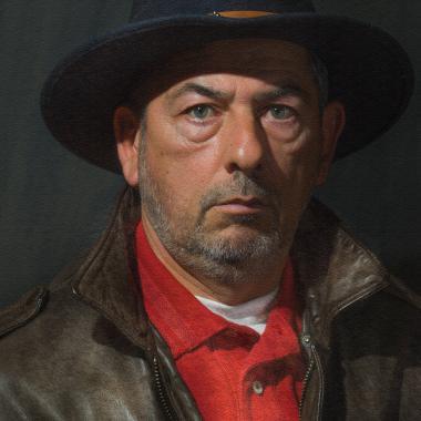 REMBRANDT Petit Autoportrait 56/58 par Jeppesen