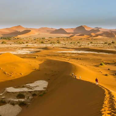 Grimpette dans le sable par jeromeh