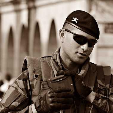 Soldat de la Paix par mamichat