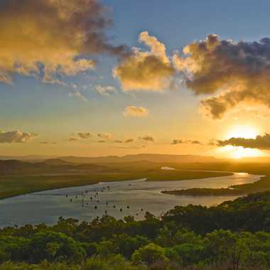 Coucher de soleil à Cooktown par rmgelpi