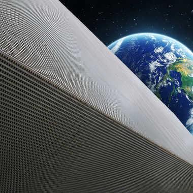 Plateforme spatiale  par Nimo