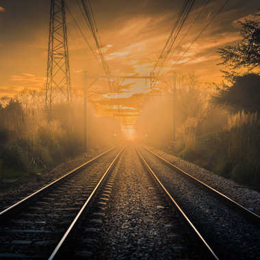 Tren de luz par raymond51