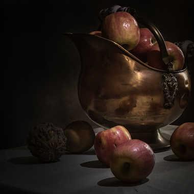 Cuivre et pommes par patrick69220