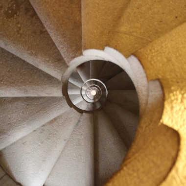 Escalier en pierre par dious