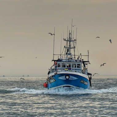 Retour de pêche.. par Micheldechelles
