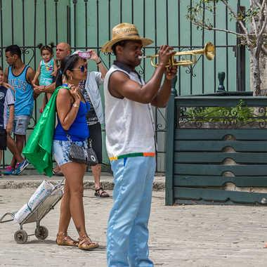 Musicien de rue par Basile59