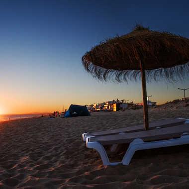 Sunset beach par Nimo