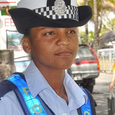 La police veille par manouch