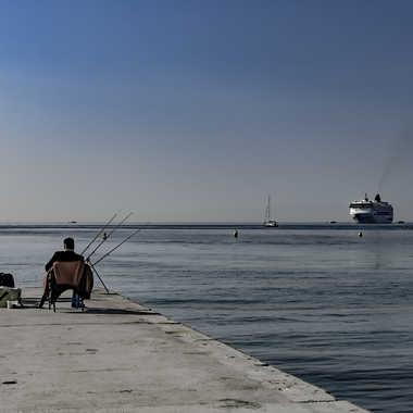 Pêcheurs a Cannes ... par Buissem