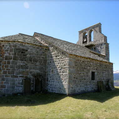 Eglise de Chastel-sur-Murat par Faugere