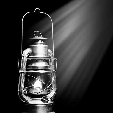 Lampe-Tempête Monochrome par Buissem