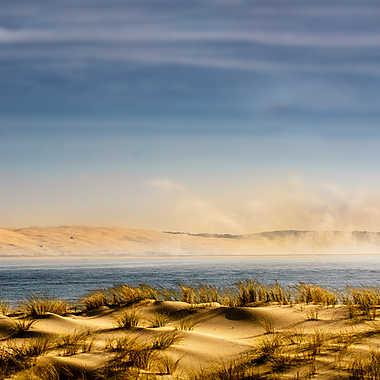 La dune du Pyla dans les nuages  par NathalieR