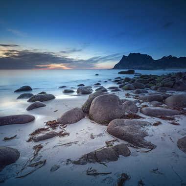 Uttakleiv beach par Michel06