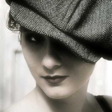 Portrait de Lydie style Peaky Blinders. par Joseph1960