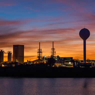Aurore industrielle par Dav.sv