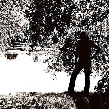 Silhouette d'Homme par mamichat