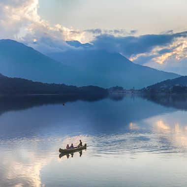 En Canoe par Jeananne