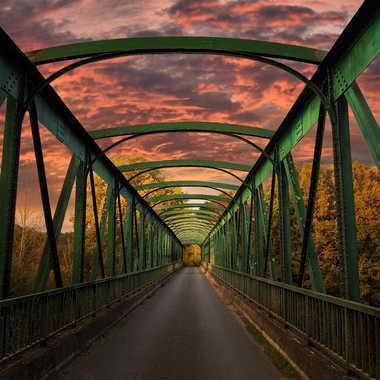 Pont surla voie verte de Ciron par XavR