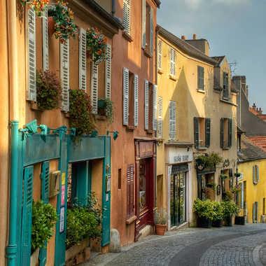 petite rue colorée. par Aurimec