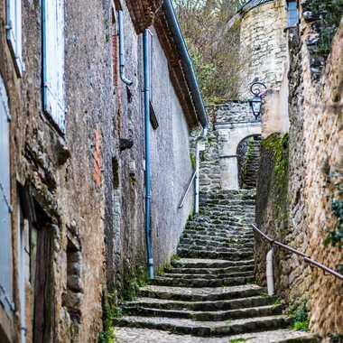Accès au Moulin par Buissem