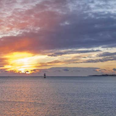 Coucher de soleil sur Groix par sylmorg