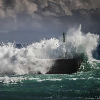 Quand la mer se déchaine par fred974