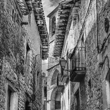 La rue principale de Galipienzo par kikineth
