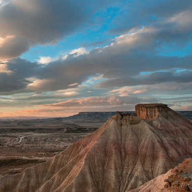 Aube sur les dunes des Bardenas par Colybri