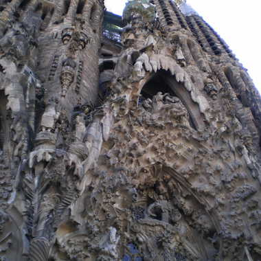 Sagrada familia à barcelone par Albatros