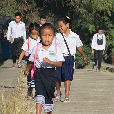 Chemin de l'école par patrick69220
