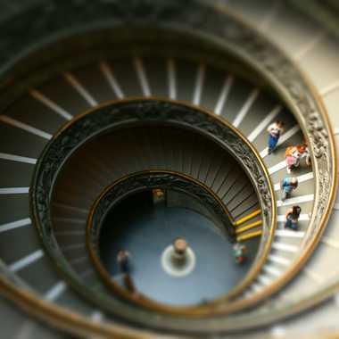 escalier elliptique  par Gonzo