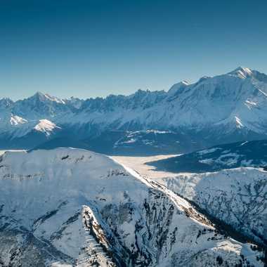 Vue du Mont Blanc par lyscar
