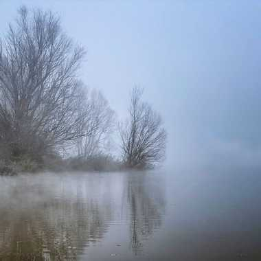 La Saône sous la brume par patrick69220
