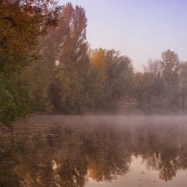 Etang de Boitray aux couleurs d'automne par patrick69220
