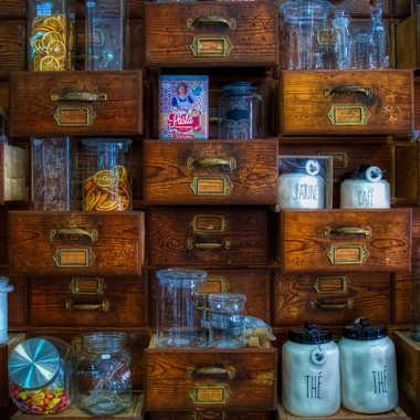 Les tiroirs à curiosités. par FloRd