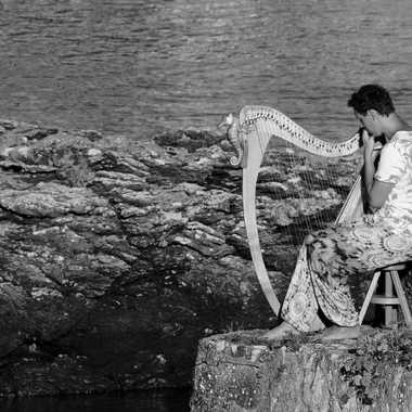 Le Joueur de Harpe par mamichat