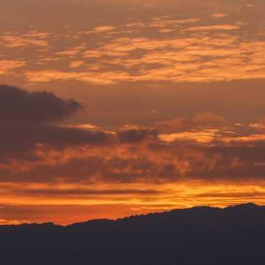 coucher de soleil genevois  par brj01