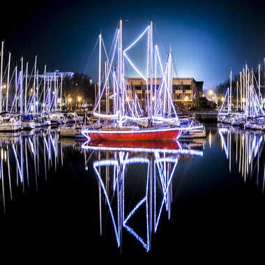 Le bateau du Père Noël par sylmorg
