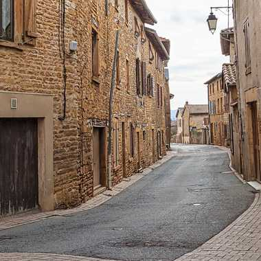Village en beaujolais par patrick69220