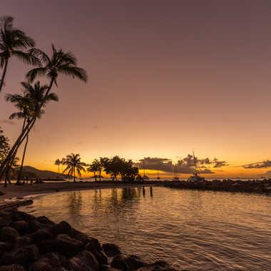 Couché de soleil en Martinique par Aurelien67