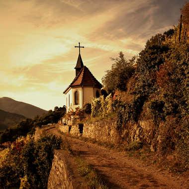 Le chemin de la chapelle. par Giem